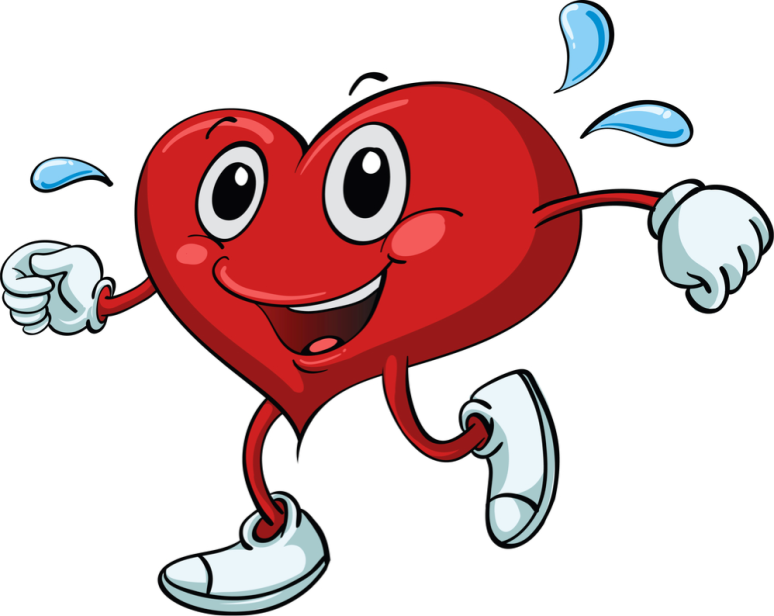 Healthy-Heart-Working-Out-Cartoon-Chanhassen-Fitness-Revolution-21-Day-Healthy-Heart-Cardio-Program